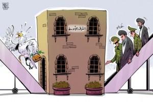 أمن وسلام الشرق الأوسط غاب مع عودة الخميني
