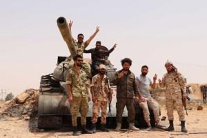 عناصر من تنظيم القاعدة في قبضة الجيش الليبي