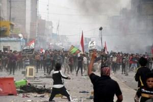 مقتدى الصدر يفشل في احتكار الشارع وضبط حركة الاحتجاجات