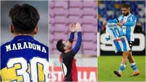 """10 أهداف في 3 لقاءات.. مارادونا يلهم """"فرقه الحزينة"""""""