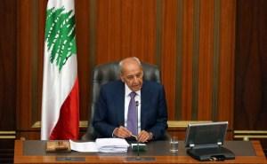"""بري يدعو البرلمان اللبناني إلى دراسة قانون استرداد """"الأموال المنهوبة"""""""