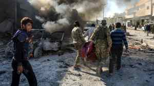 """17 قتيلا بانفجار """"مفخخة"""" في رأس العين شمالي سوريا"""