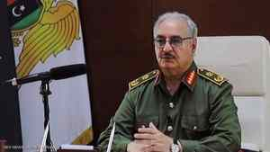 تكليف رئيس أركان الجيش الفريق عبد الرازق الناظوري بمهام القائد العام.