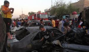 عشرات القتلى والجرحى بهجمات في# العراق