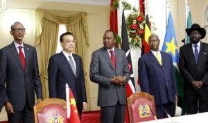 #الصين : تمول مشروع خط قطار بشرق #افريقيا