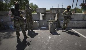إطلاق سراح زعيم انفصالي وانفجارات شرقي #اوكرانيا