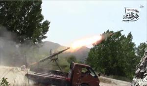 #سوريا : احتدام القتال بـ #اللاذقية وغارات مكثفة بـ #ريف_دمشق