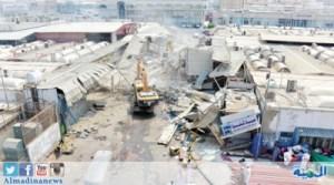 أمر قضائي بإيقاف إزالة محلات سوق البوادي بجدة