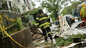 #امريكا : إصابة 34 بحريق ضخم بـ #نيويورك