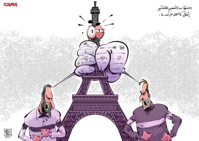 المخاطر تحيط بالديمقراطية الفرنسية