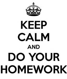 Homework Tonight