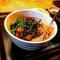 【四谷】きらく亭の「ビビンパ牛丼」!