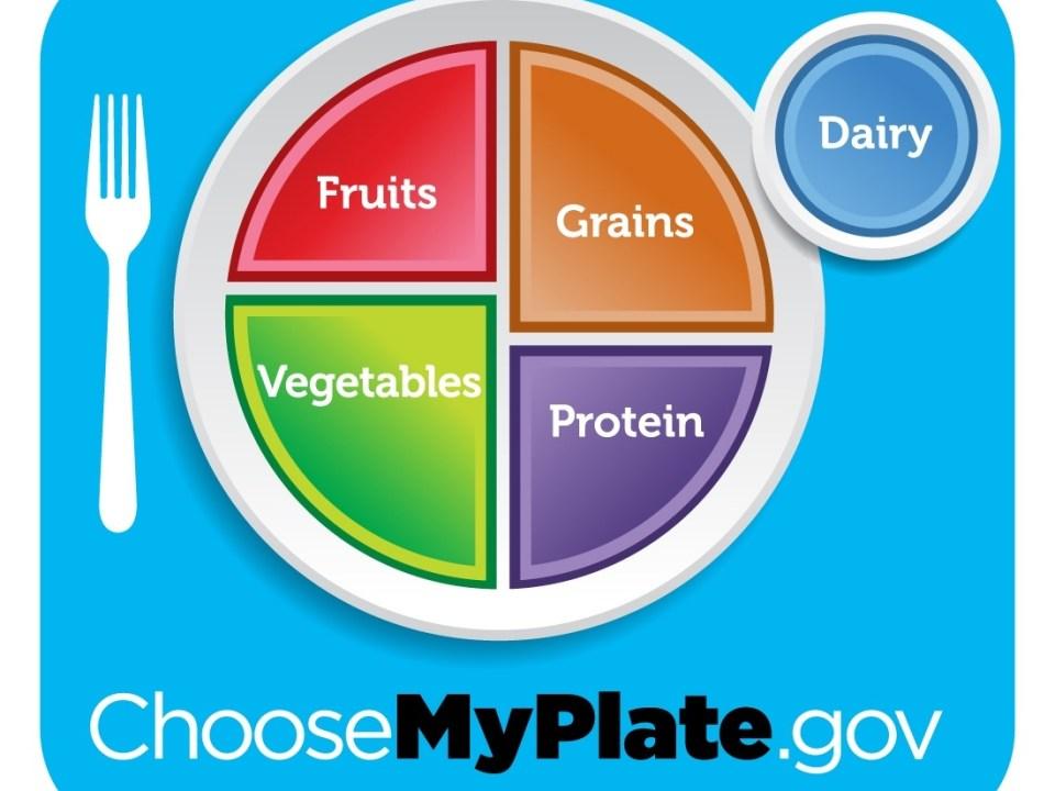 healthy diet plate