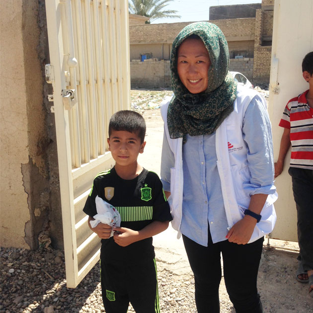 Nikoline var udsendt i Irak som sygeplejerske i 2016