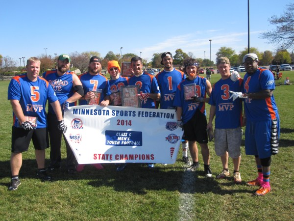 Touch Football State Tournament Champions Minnesota