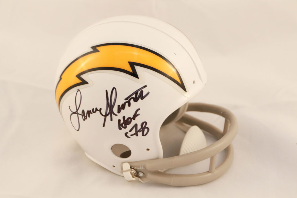 outlet store 0e819 df707 Lance Alworth San Diego Chargers Throwback Mini Helmet - Mississippi Sports  Hall of Fame