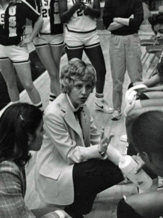 Kay James built a program and won more than 400 games at Southern Miss.