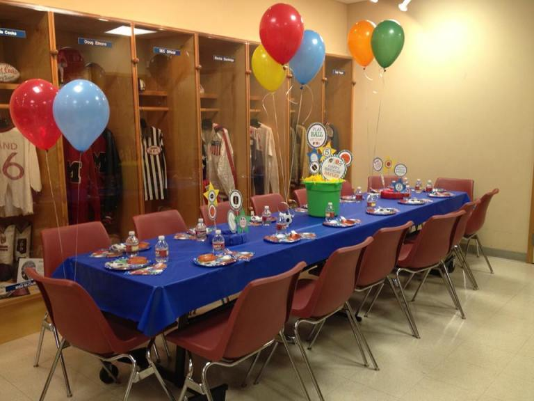 Birthday Parties Mississippi Sports Hall Of Fame And Museum