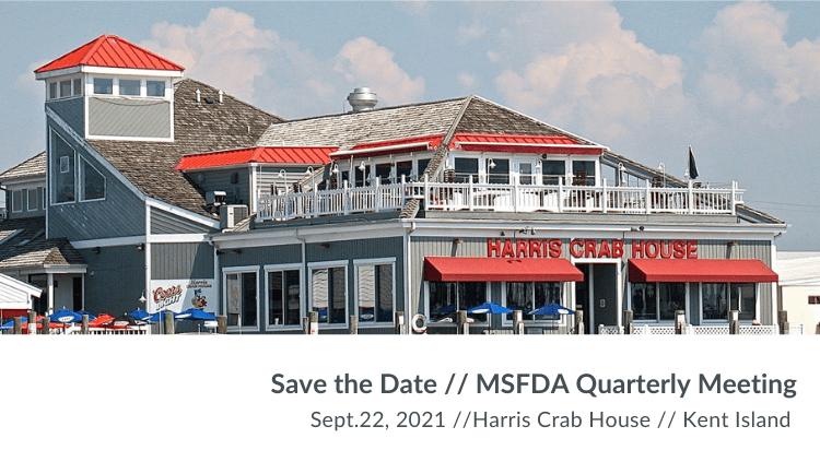 September Quarterly Meeting at Harris Crab House