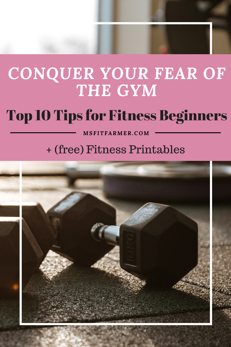 Gym Tips for Beginners | Beginner Workouts | Fitness Tips | Conquer your fear of the Gym | Healthy Hacks | Start a Fitness Routine | More Health, Wellness and Fitness at https://msfitfarmer.com