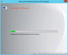 SharePoint-2013---Installation