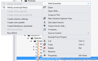 Minimize files