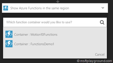 Azure Function Container