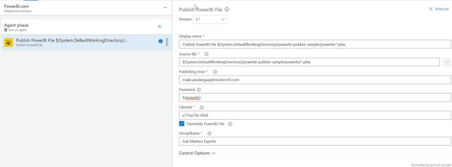 VSTS PowerBI Extension