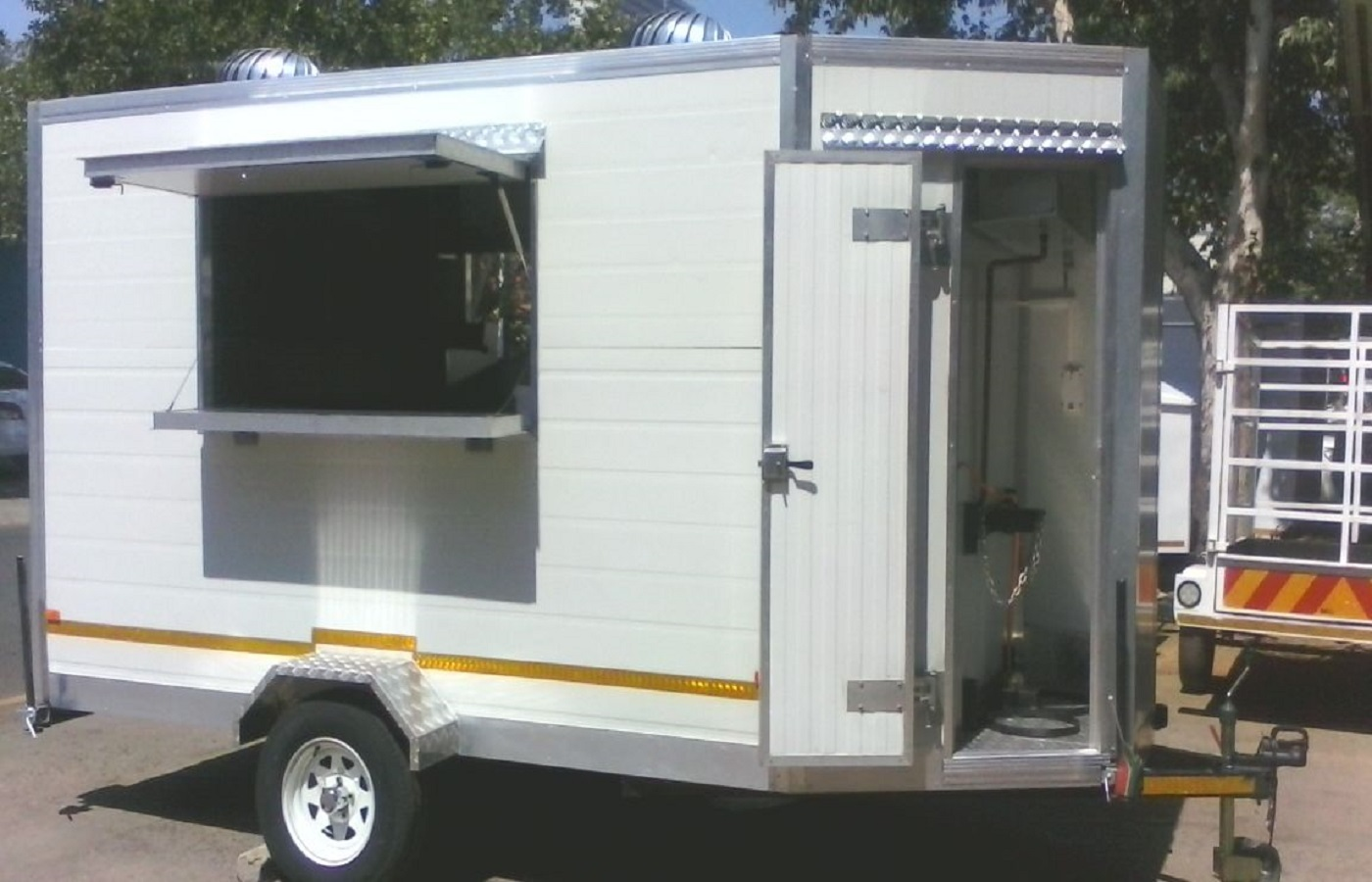 mobile kitchens small kitchen storage solutions msf trailer manufacturers for 4 0m