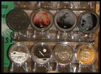 Meteorite coins and medals