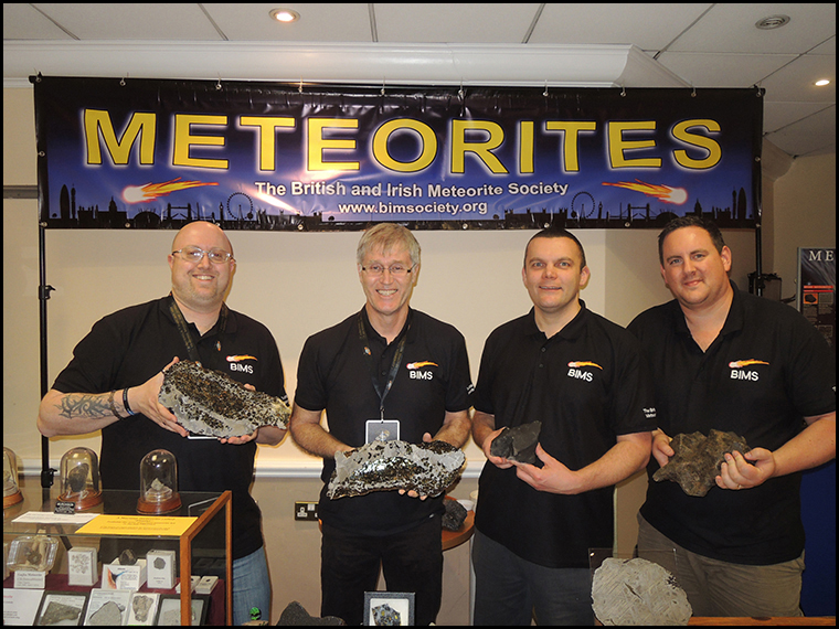 Myself, Graham, Matt and Luther proudly wearing our new BIMS polo shirts.