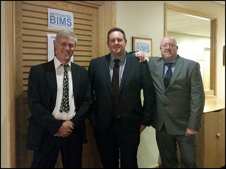 The three amigos, suited and booted :-)
