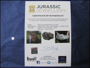 Meteorite Jewellery For Sale