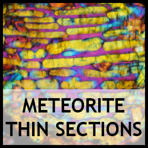 Meteorite thin sections