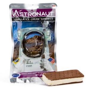 Astronaut food vanilla ice cream sandwich 2