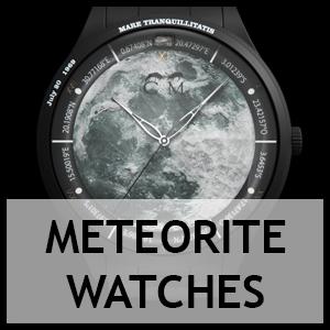 Meteorite watches