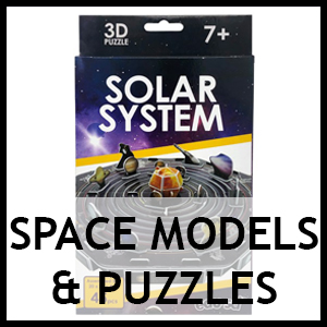 Space Themed Models & Puzzles
