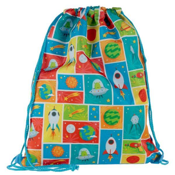 Space cadet drawstring bag 2