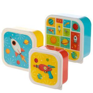 Space cadet lunchbox set 2