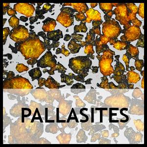 Meteorite pallasites