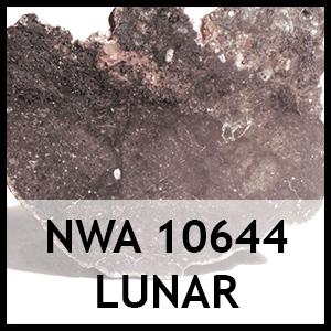 Nwa 10644 lunar meteorite