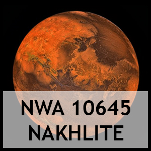 Nwa 10645 nakhlite