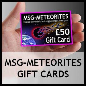 Msg-Meteorites Gift Cards
