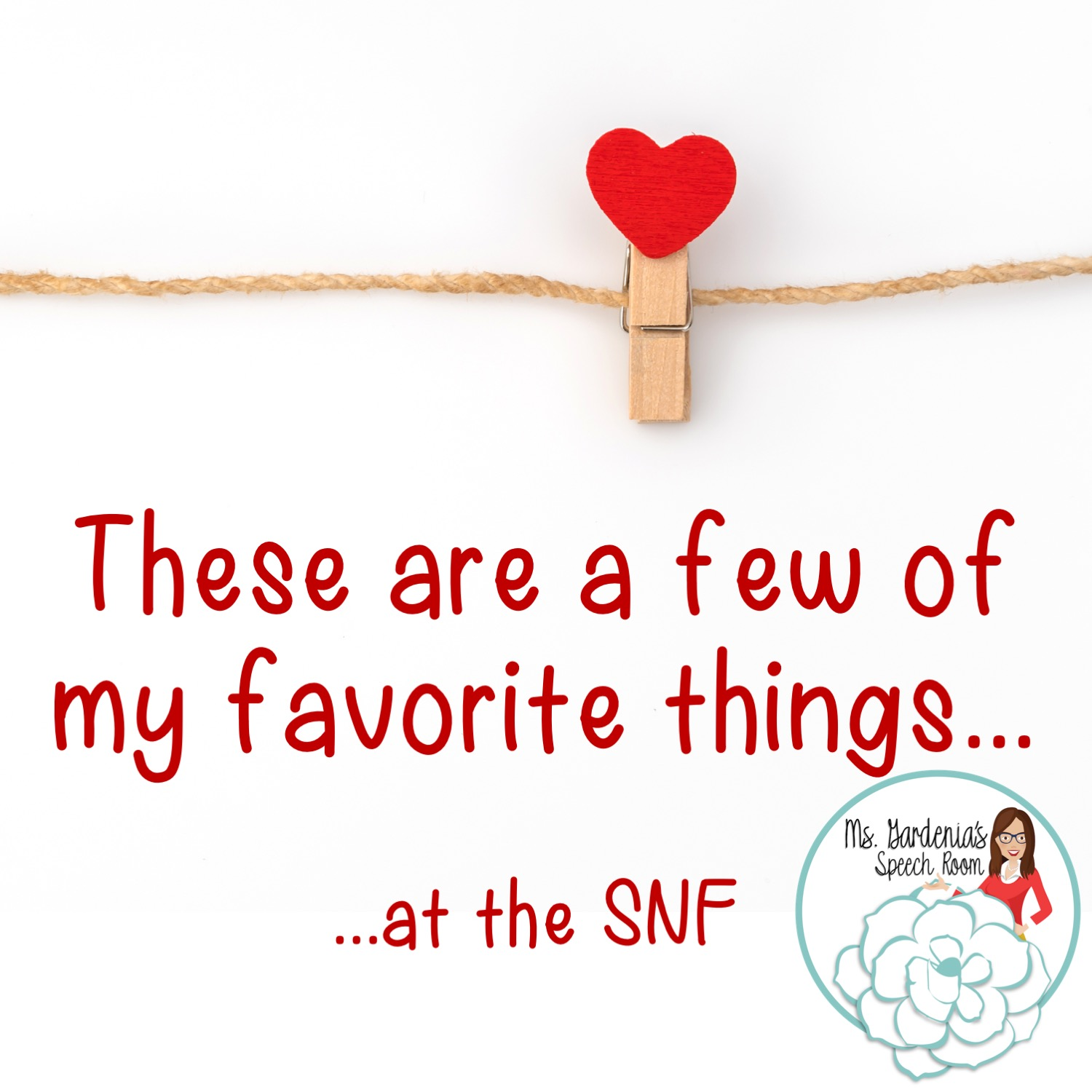 These Are A Few Of My Favorite Things The Snf