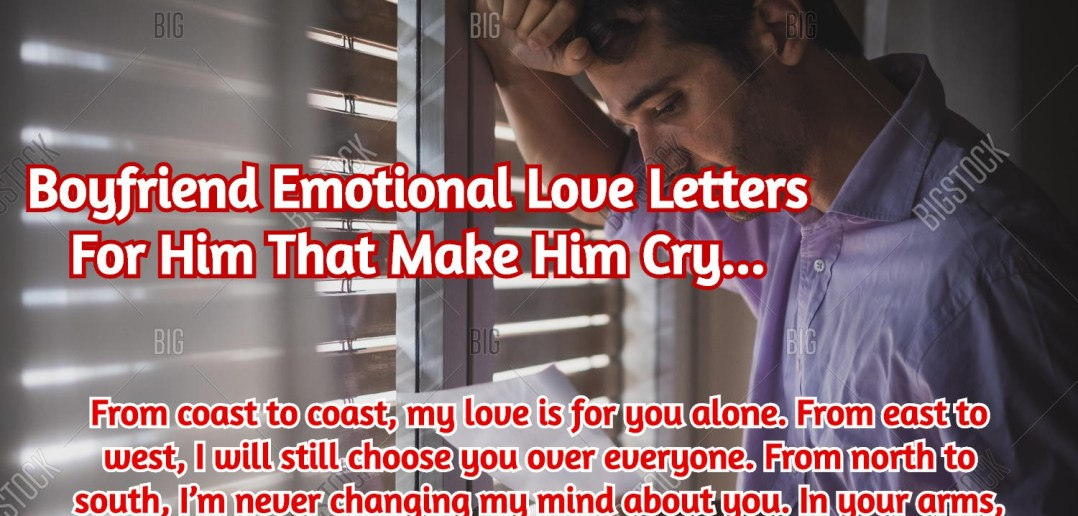Love Letters For Him