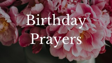 Birthday Prayer For My Son