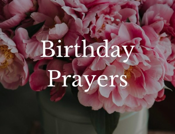 Cute Birthday Prayer For My Son