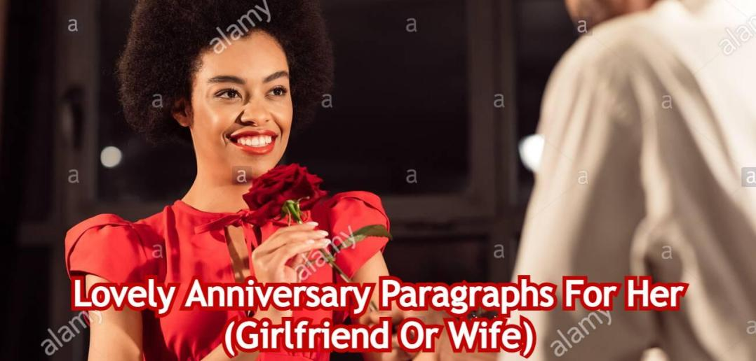 Anniversary Paragraphs For Her