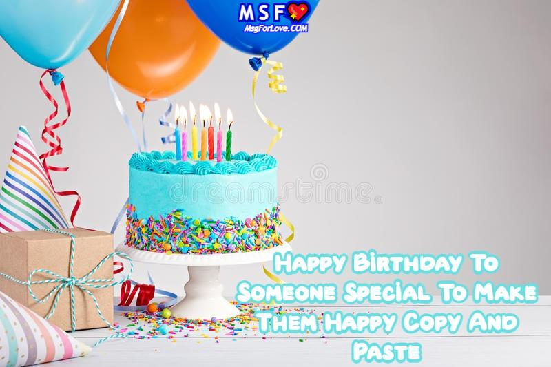 Happy Birthday To Someone Special