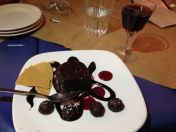 Regrettable but delicious dessert